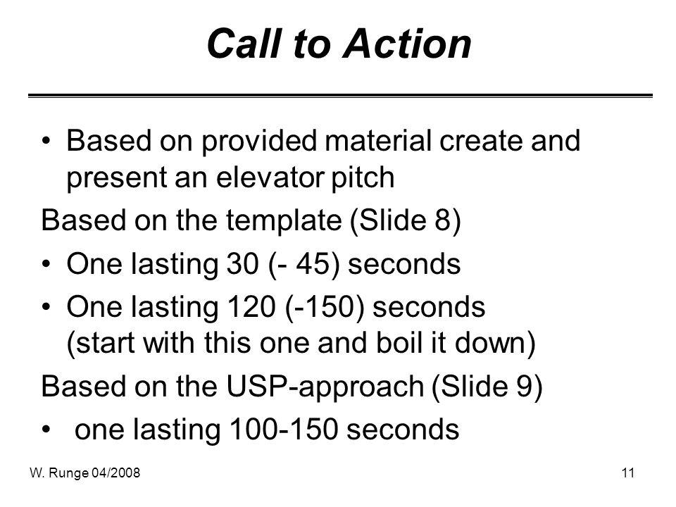 elevator speech example - Pinarkubkireklamowe