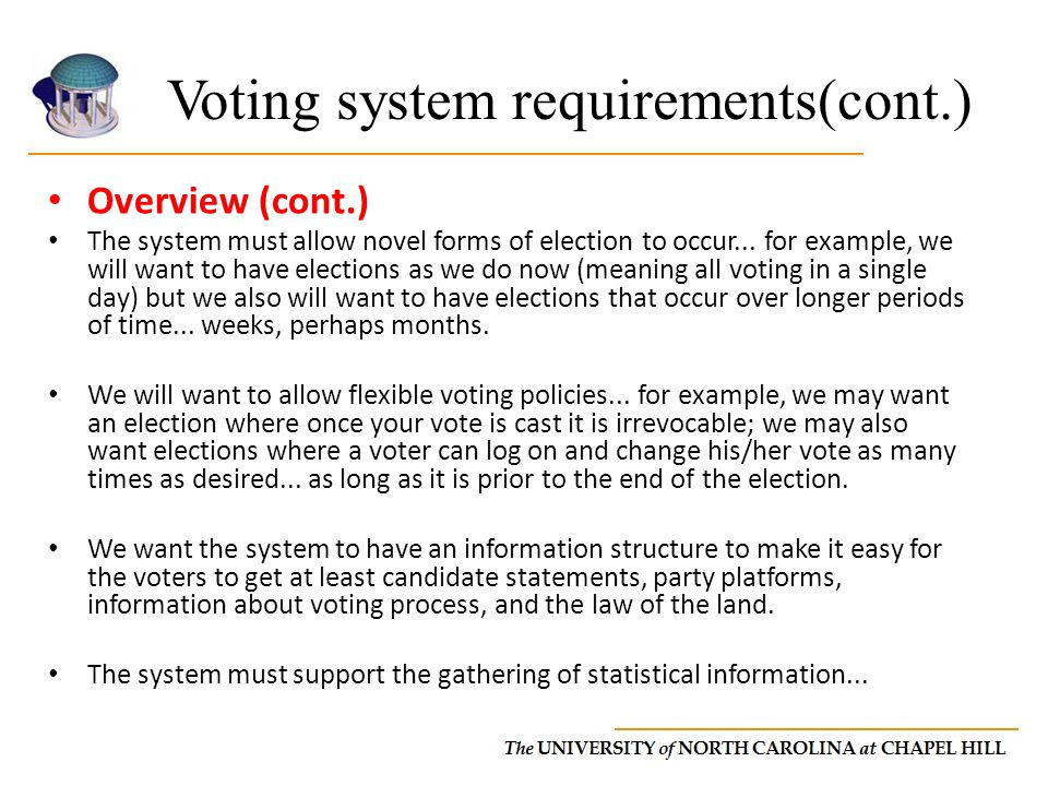 Course final project Online voting system design report - ppt download