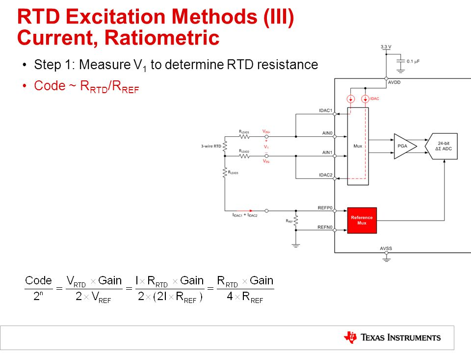 RTD Measurement Step-by-step Design Procedure - ppt video online