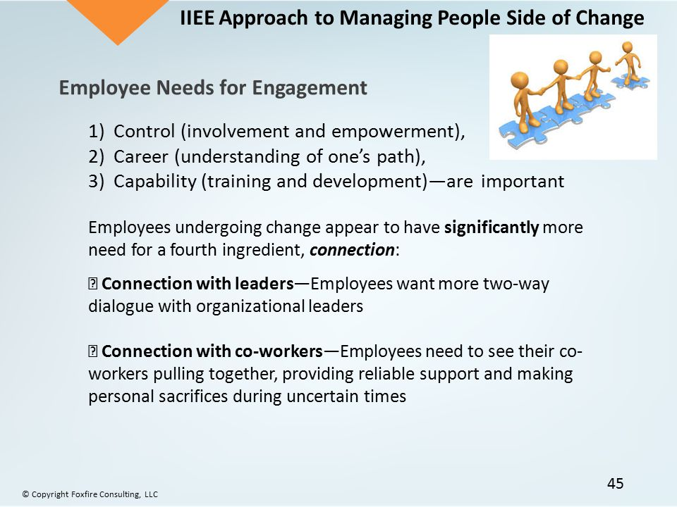 Managing The People Side Of Change Ppt Download