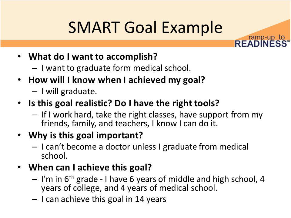 SMART Goals 6th Grade Smart Goals #2 Microsoft, ppt video online