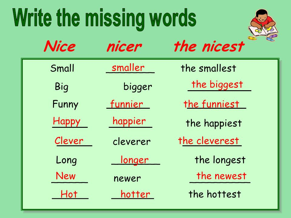 Adjectives Degrees of Comparison - ppt video online download