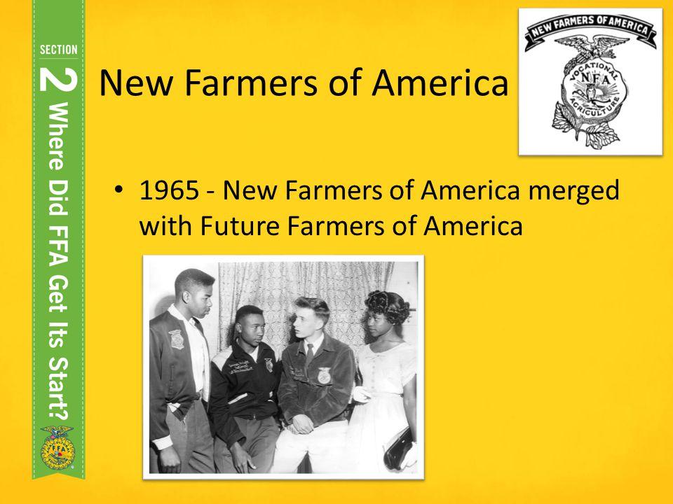 New Farmers Of America colbro - new farmers of america