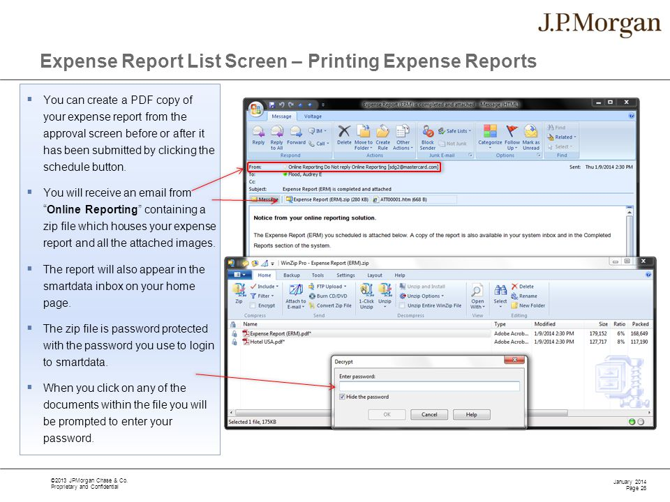 Expense Report Training - ppt download