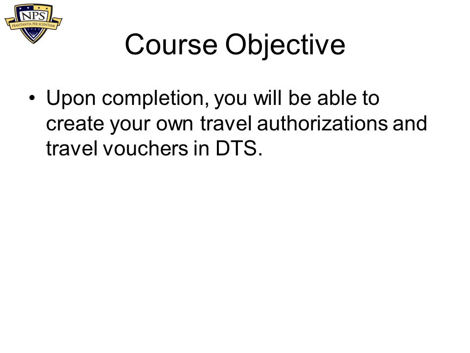 DTS User Training DEFENSE TRAVEL SYSTEM July ppt video online download - Make Your Own Voucher