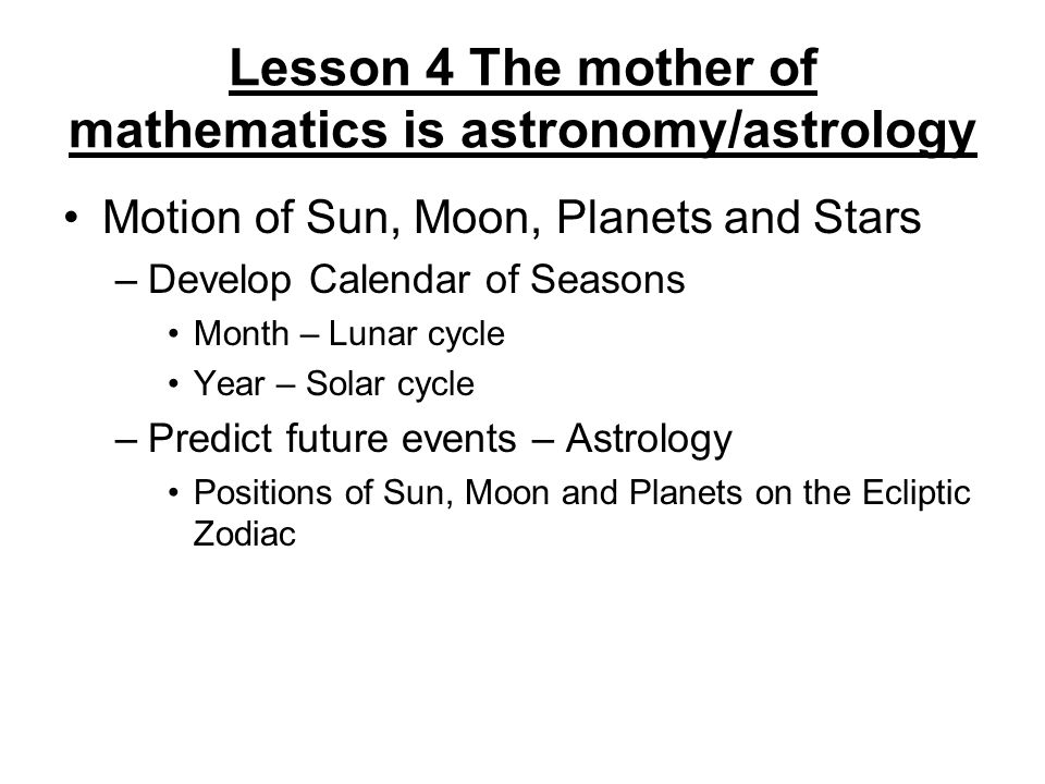 Lessons from the History of Mathematics - ppt video online download