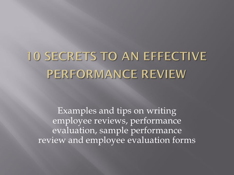 Write performance review Custom paper Help tfhomeworkalce