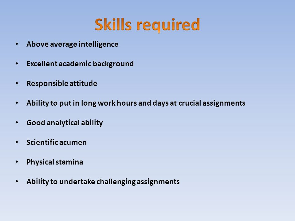 Analytic Skill dnio