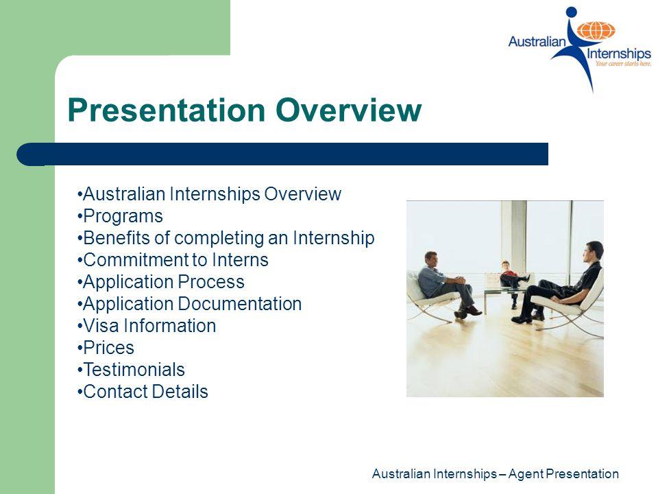 Australian Internship Agent Presentation - ppt video online download