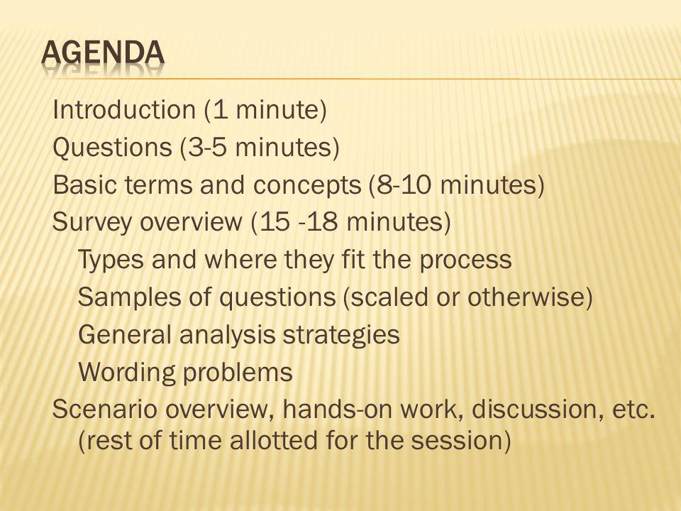 Introduction to Designing Needs Assessment Surveys - ppt download