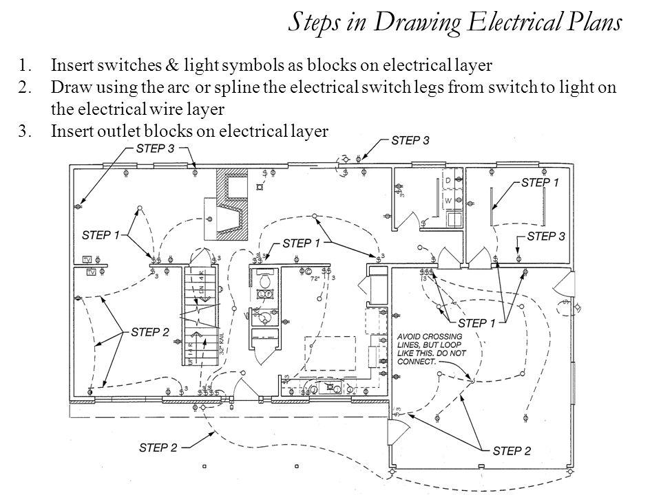 Electrical Plot Plan Wiring Diagram