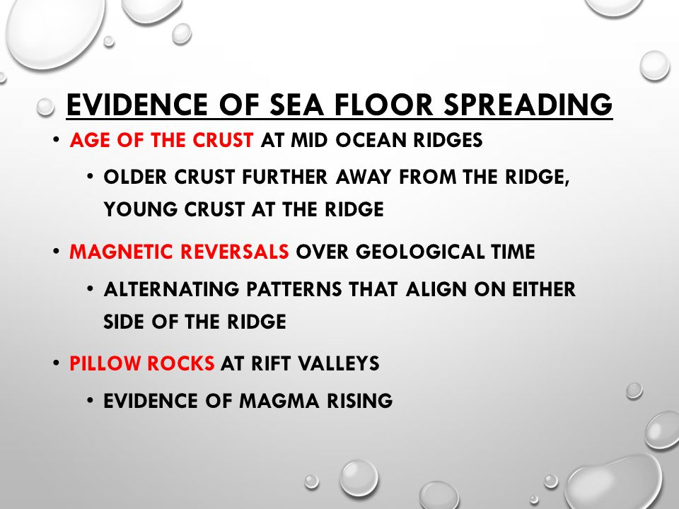 Sea Floor Spreading And Continental Drift Ppt Video