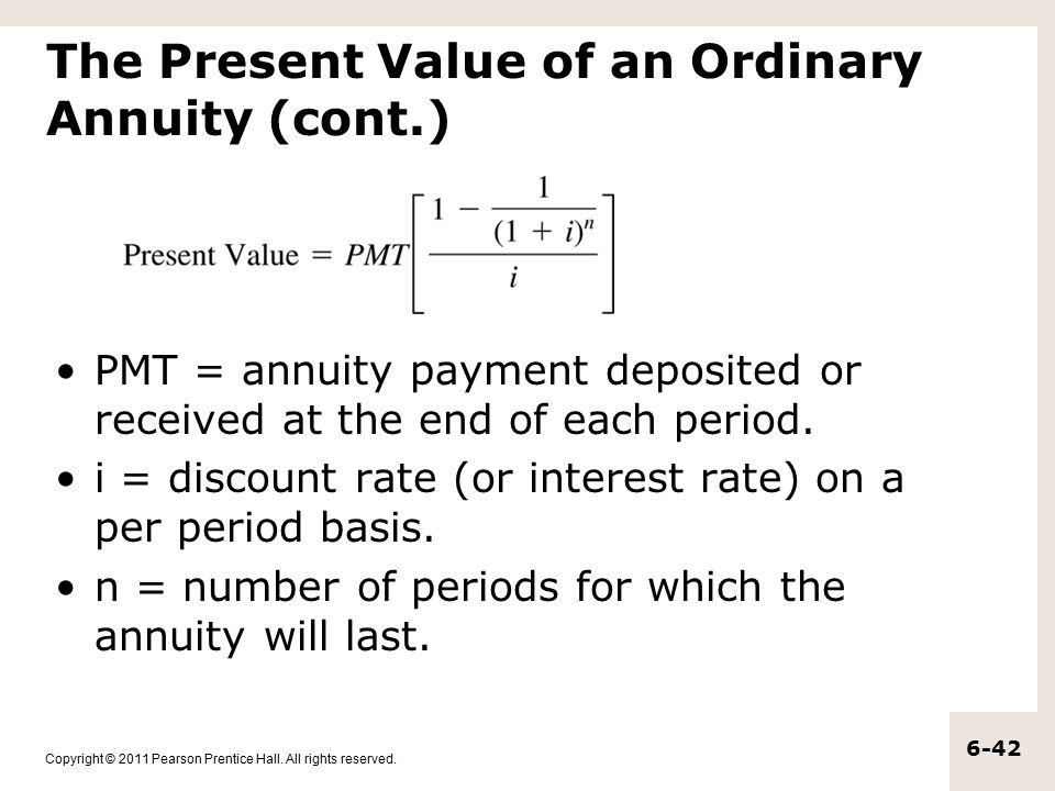 The Time Value of Money Annuities and Other Topics - ppt download