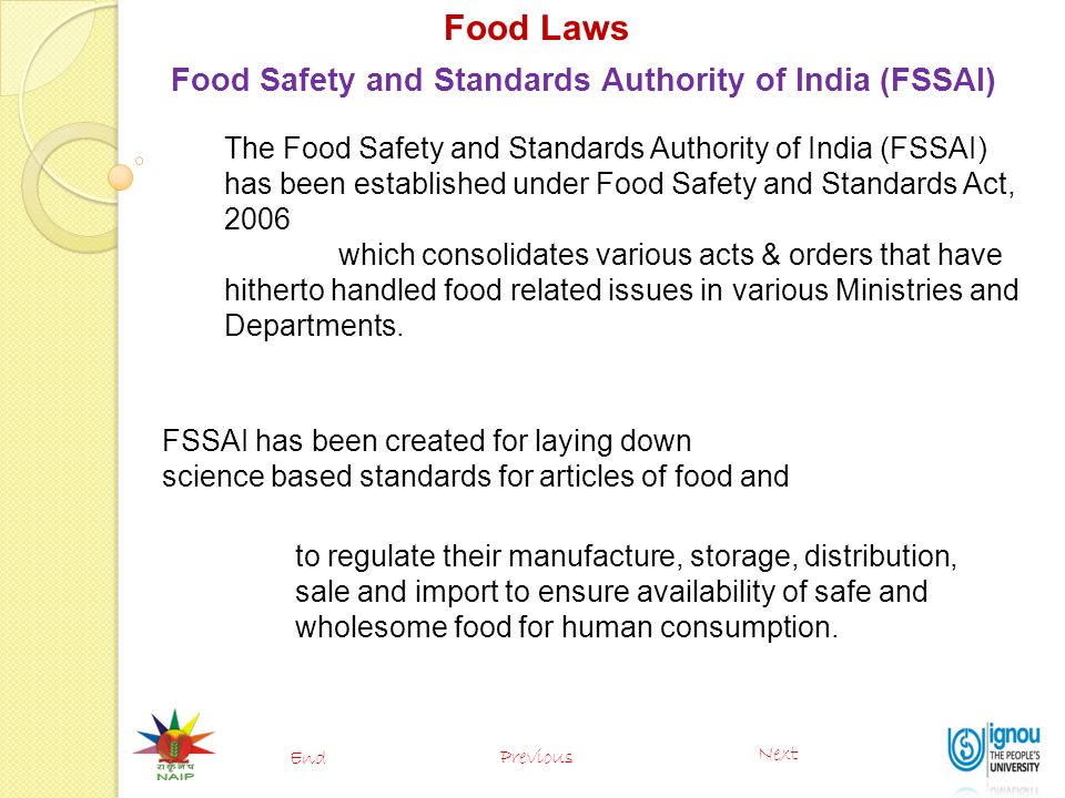 Food Laws (PFA, FPO, MMPO, Agmark, BIS  FSSAI) - ppt video online