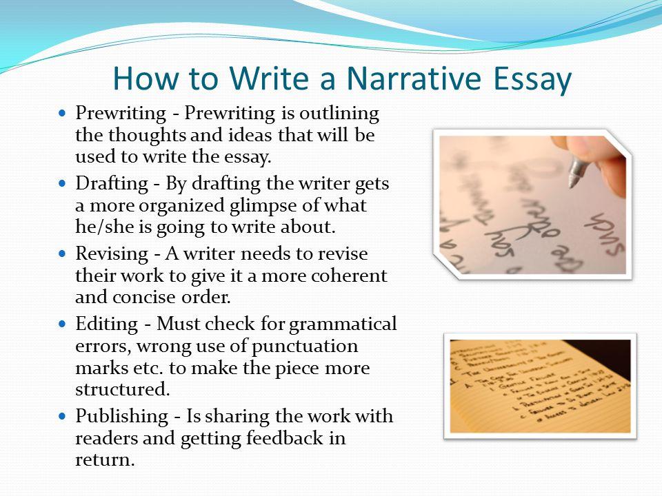 Elements of a Narrative Essay - ppt video online download