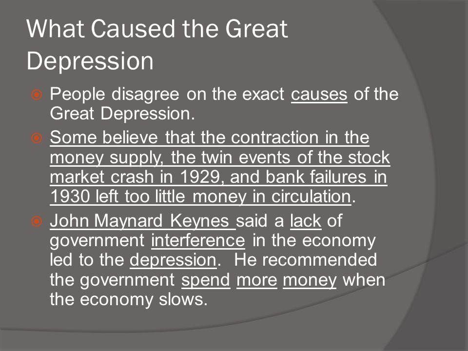 Great Depression and the New Deal - ppt download