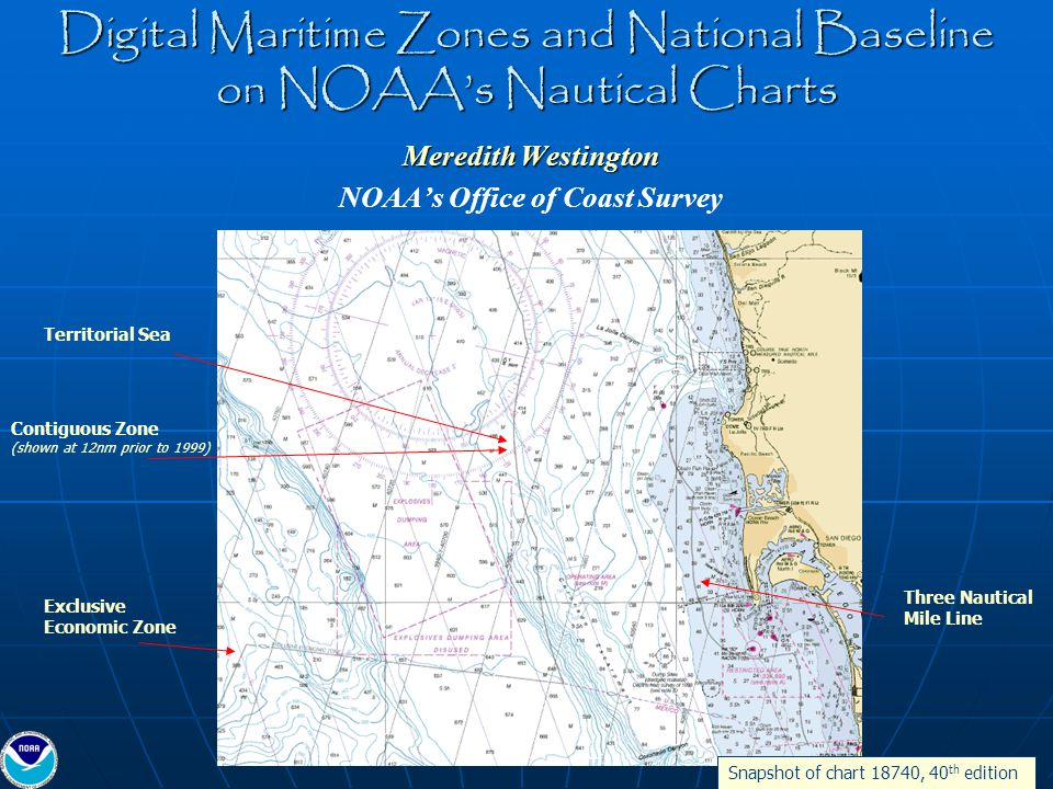 Digital Maritime Zones and National Baseline on NOAA\u0027s Nautical