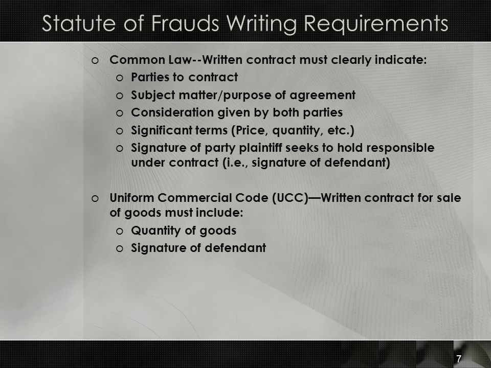 Contracts in Writing  Third-Party Rights - ppt video online download - writing contract agreements
