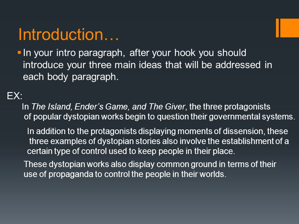 Dystopian Synthesis Essay - ppt video online download