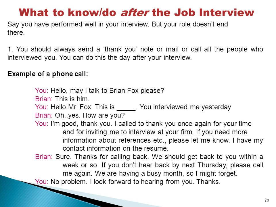Job Interview Basic Vocabulary - ppt download