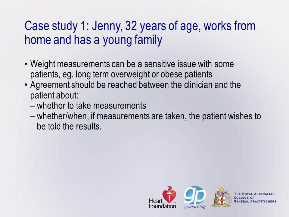 Welcome to managing weight \u2013 an interactive workshop designed to - weight by measurements