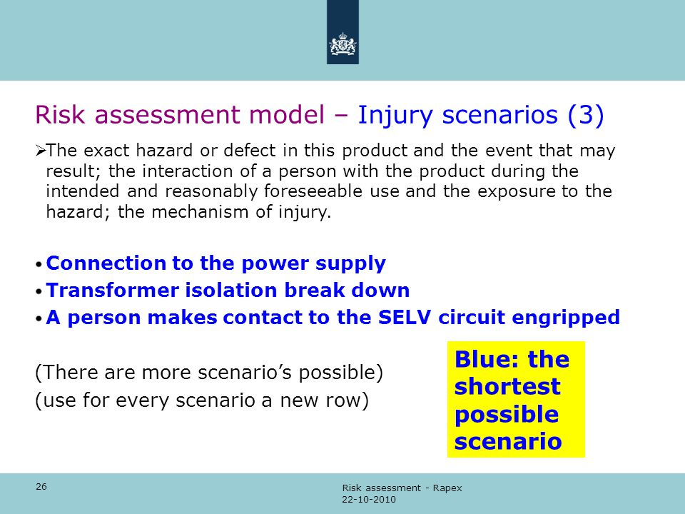 RISK ASSESSMENT How to perform the risk assessment - ppt video