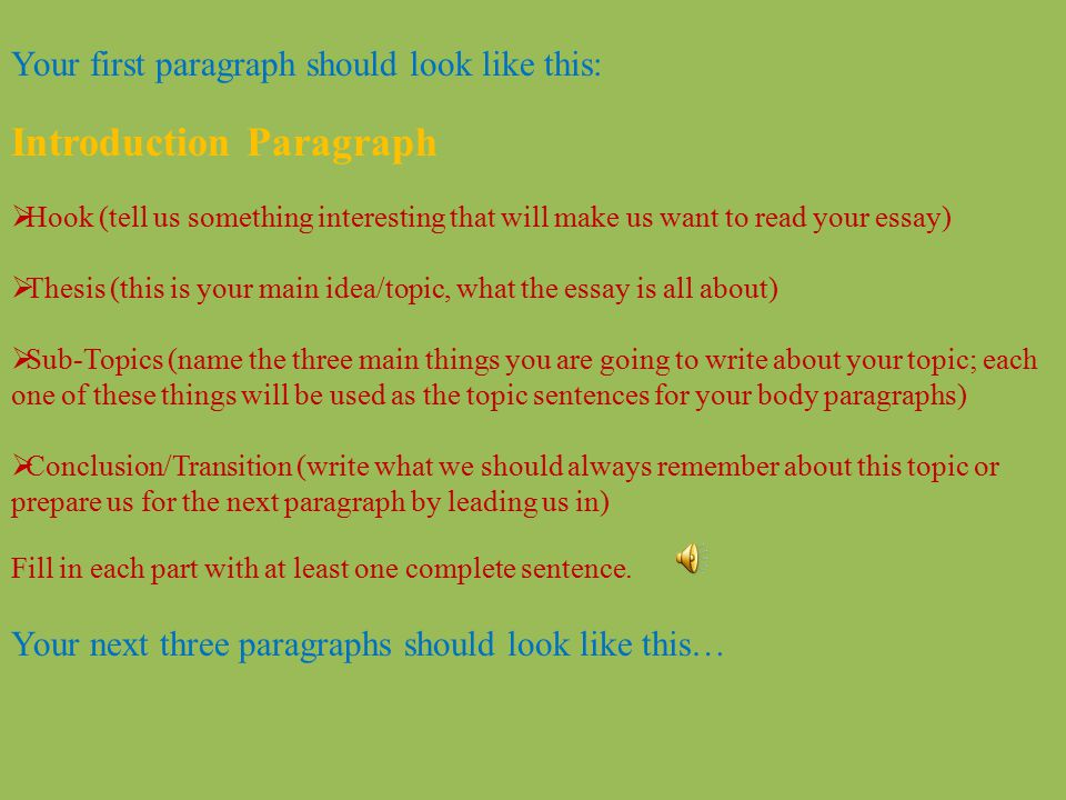 How to Write an Awesome Five Paragraph Essay The Easy Way! - ppt - how to make a introduction paragraph