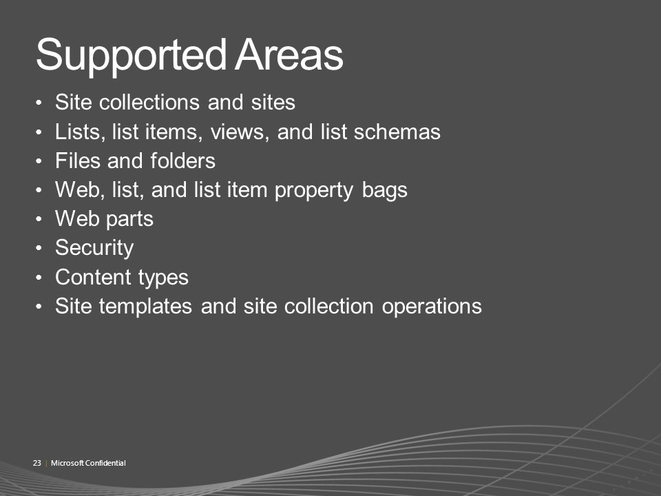 Microsoft SharePoint® Online Extensibility and Customization - ppt