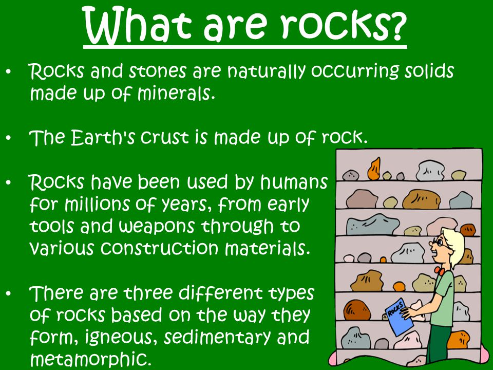 A Unit Study On Rocks And Minerals For 3rd Grade Ppt