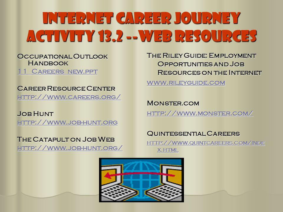 Choosing a Career Rule#1 Choose a career that is something - ppt