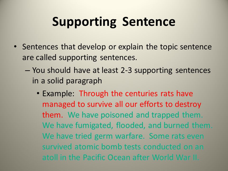 Writing Paragraphs A well-developed paragraph has 3 parts - ppt