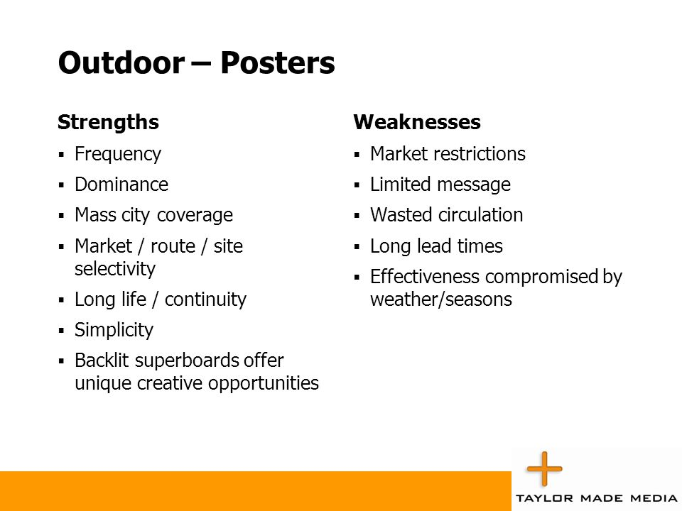 Strengths and Weaknesses of Each Medium - ppt video online download