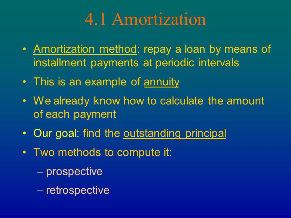 Chapter 4 AMORTIZATION AND SINKING FUNDS - ppt download