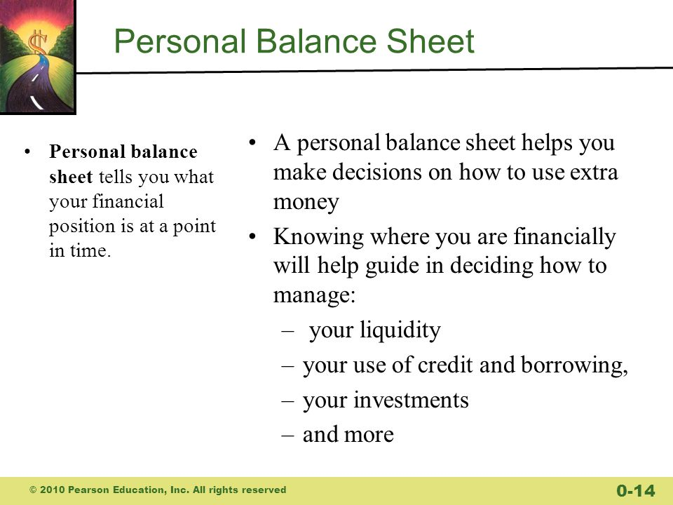 Budgets and Balance Sheets Your Personal Financial Statements - ppt