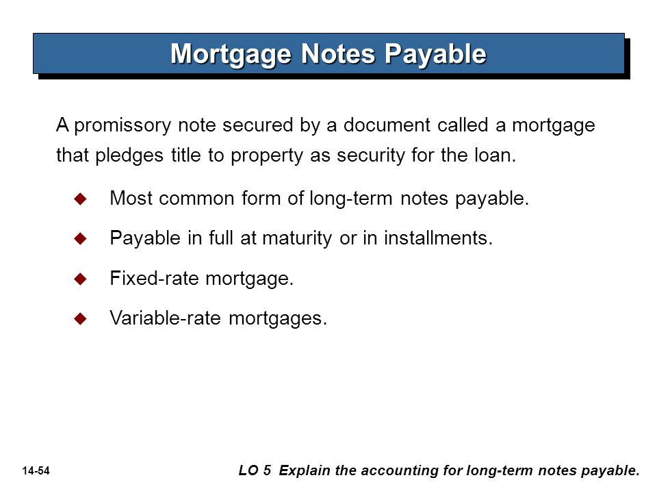 NON-CURRENT LIABILITIES - ppt download