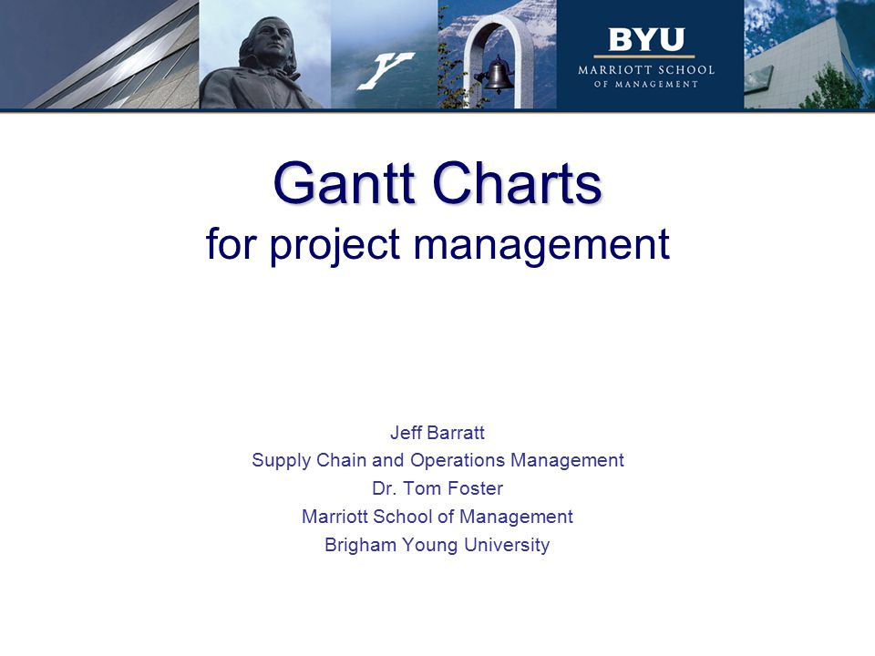 Gantt Charts for project management - ppt download