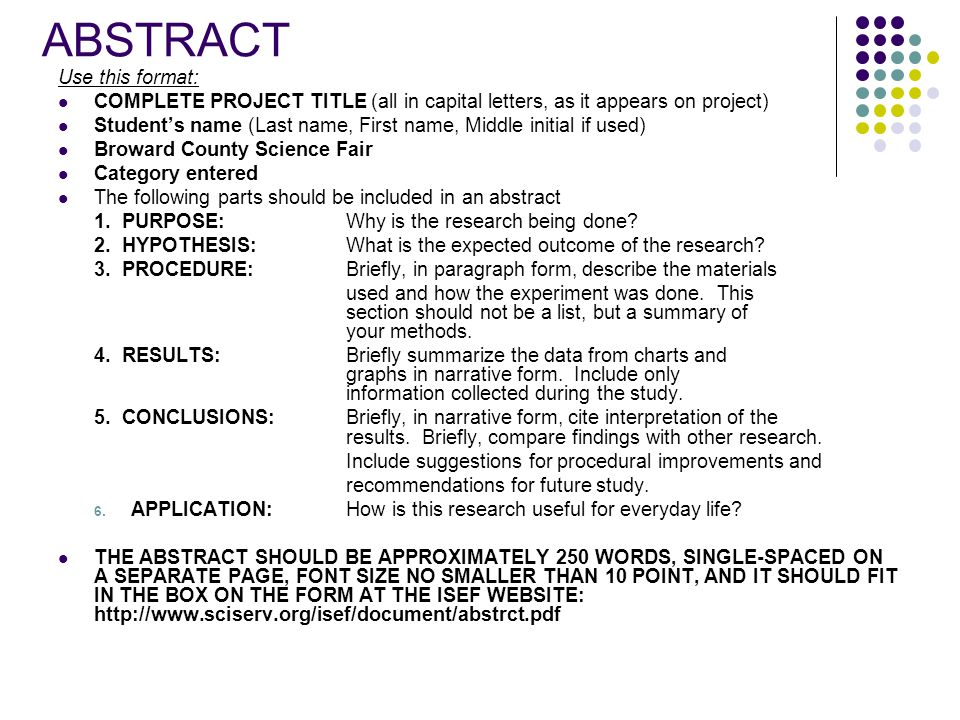 Science Research Guide - ppt video online download
