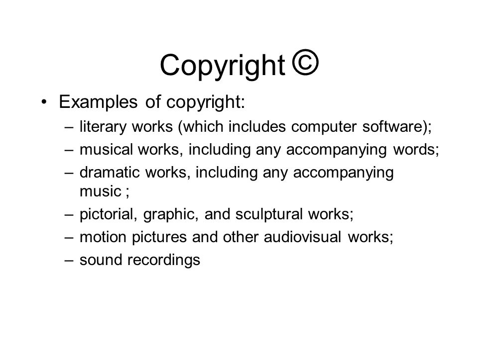 Copyright Understanding the appropriate and ethical use of