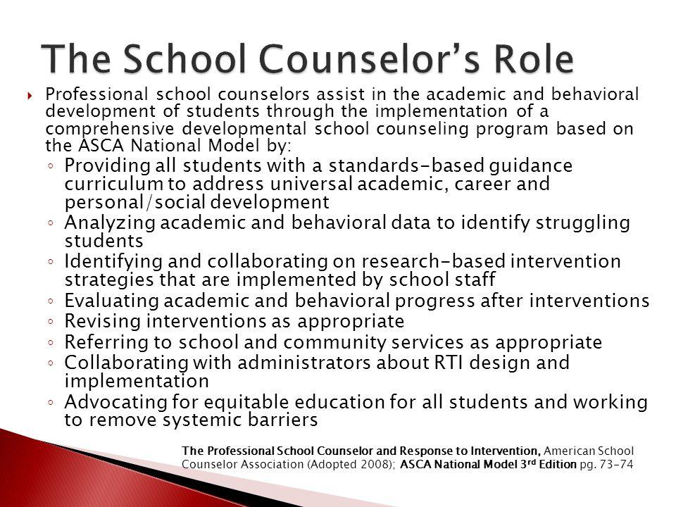 School Counselor Job Description How To Start An LLCmulti-tier ...
