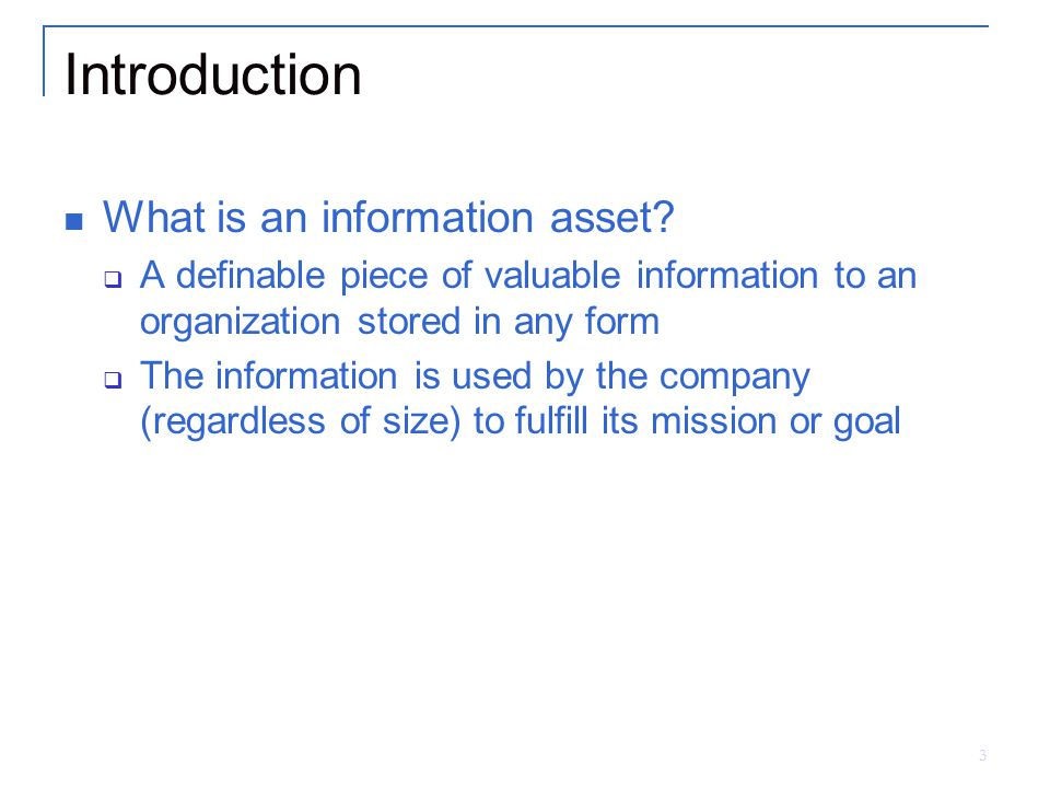 Chapter 5 Asset Classification - ppt download