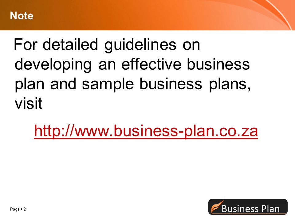 SMALL BUSINESS PLAN GUIDE - ppt video online download