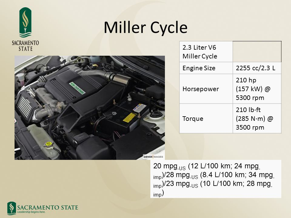 MILLER CYCLE Prof Timothy Marbach ME258 Advanced Thermodynamics