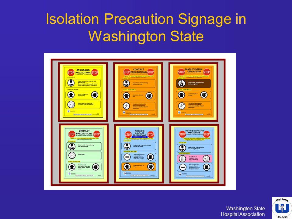 Isolation Precaution Signage in Washington State - ppt video online - isolation precautions