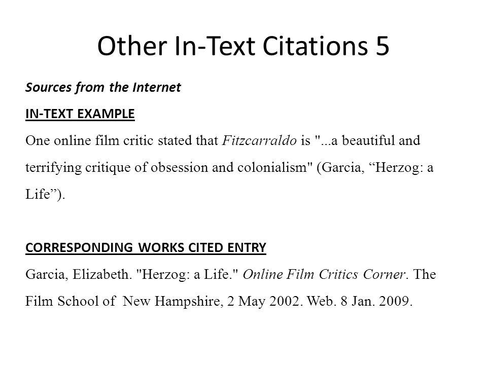 Mla Parenthetical Citation Documentary - Guide How to cite a DVD