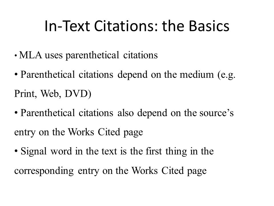 how do you cite websites in mla format The complete guide to mla & citations what you'll find on this guide: this page provides an in-depth overview of mla format it includes information related to mla citations, plagiarism, proper formatting for in-text and regular citations, and examples of citations for many different types of sources.