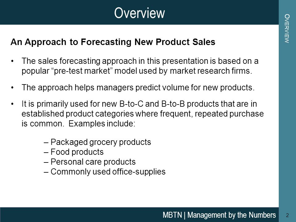 New Product Sales Forecasting - ppt video online download