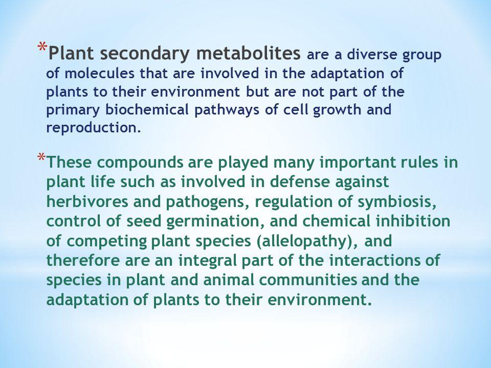 Plant secondary metabolites - ppt video online download