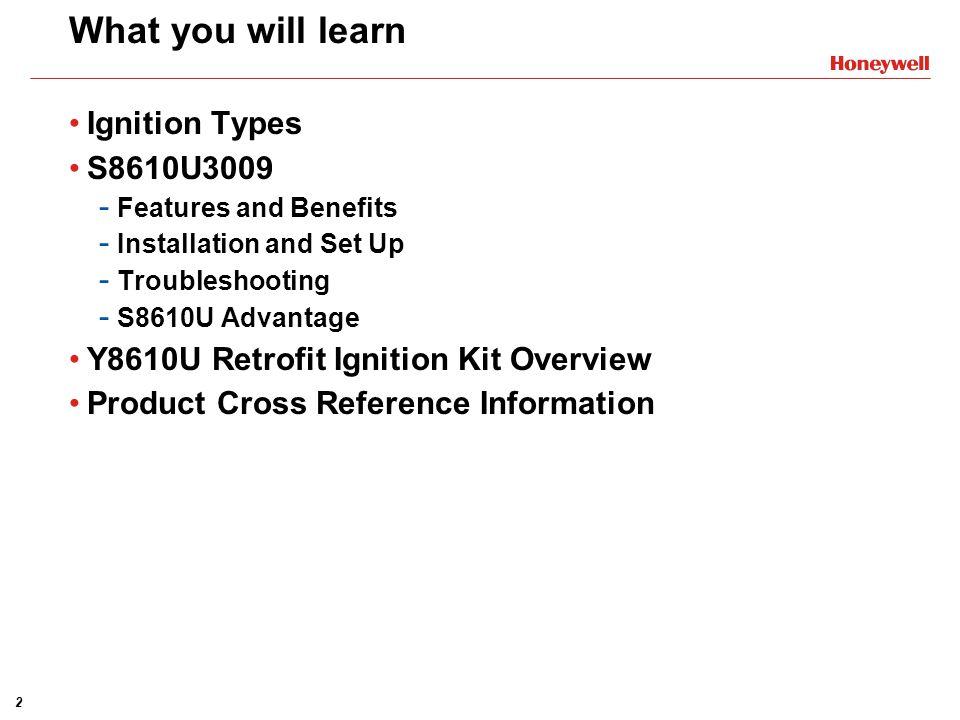 S8610U3009 Universal Electronic Ignition Modules Training Module