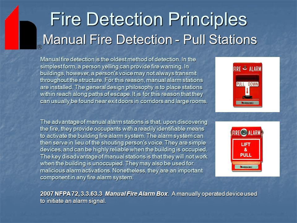 Fire Detection and Alarm System Basics - ppt download