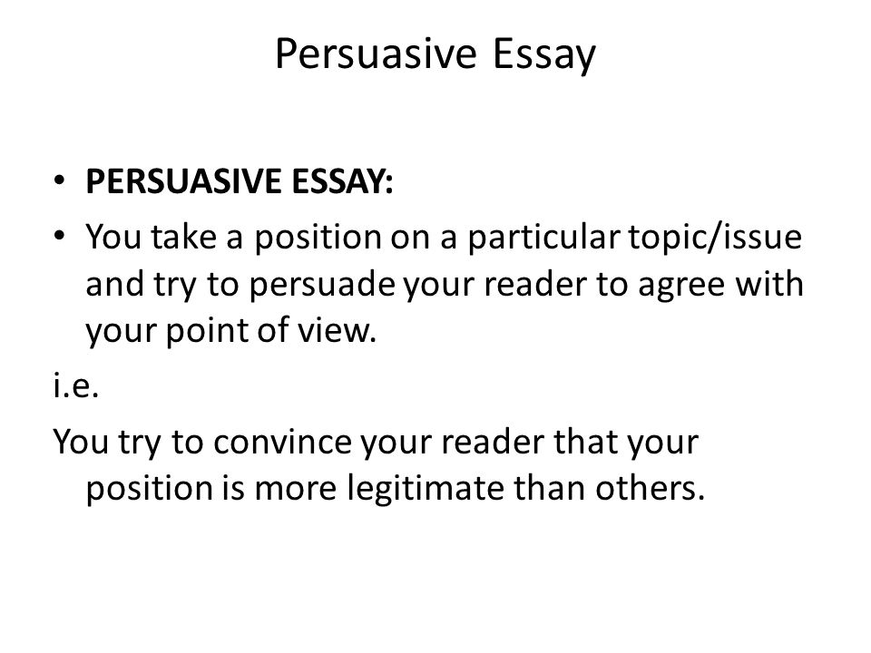 National 5 Persuasive Essay - ppt video online download